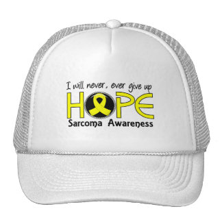 Never Give Up Hope 5 Sarcoma Trucker Hat