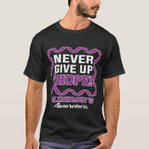 Never Give Up Hope Alzheimers awareness shirt
