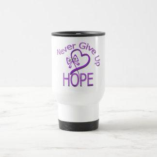 Never Give Up Hope Domestic Violence Mug