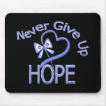 Never Give Up Hope Esophageal Cancer Mouse Pad