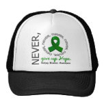 Never Give Up Hope Kidney Disease Hats