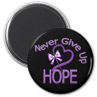 Never Give Up Hope Leiomyosarcoma Magnet