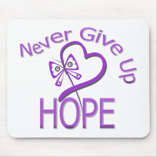 Never Give Up Hope Leiomyosarcoma Mousepads