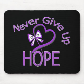 Never Give Up Hope Leiomyosarcoma Mouse Pad