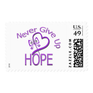 Never Give Up Hope Leiomyosarcoma Postage