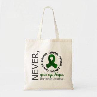 Never Give Up Hope Liver Disease Bag