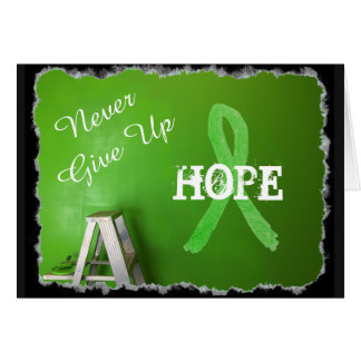 Never Give Up, Hope Lyme Disease Awareness Card