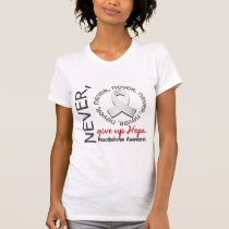 Never Give Up Hope Mesothelioma T-Shirt
