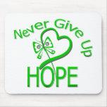 Never Give Up Hope Traumatic Brain Injury Mousepad