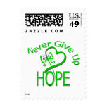 Never Give Up Hope Traumatic Brain Injury Stamp