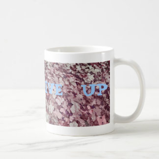 Never Give Up, Ivy background Coffee Mugs