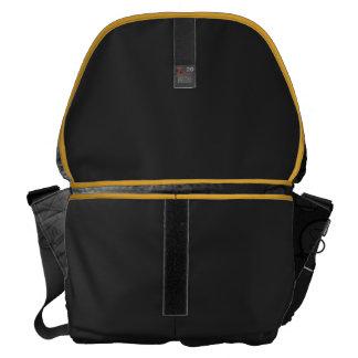 Never Give Up Large Zero Messenger Bag