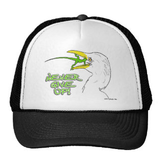 Never Give Up Lizard Mesh Hat