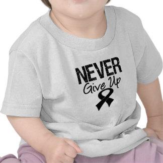 Never Give Up (Melanoma) Tee Shirts