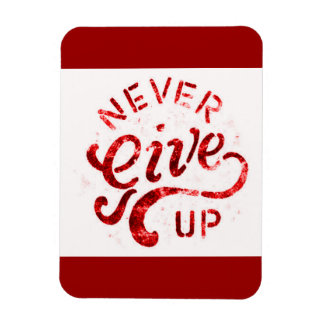 NEVER GIVE UP MOTIVATIONAL ENCOURAGING QUOTES MOTT MAGNETS