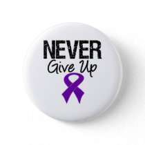 Never Give Up (Pancreatic Cancer) Pinback Button