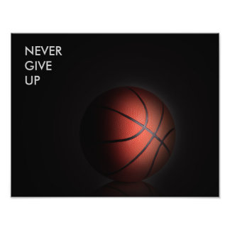 """""""NEVER GIVE UP"""" PHOTO PRINT"""