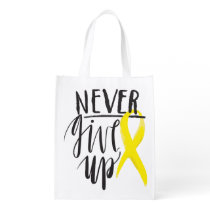 NEVER GIVE UP Reusable Bag