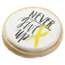 NEVER GIVE UP Shortbread Cookies - Dozen
