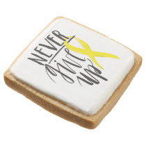 NEVER GIVE UP Shortbread Cookies - Pack of 4