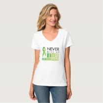 Never Give Up: TBI Survivor T-Shirt