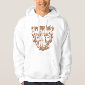 Never Give Up Tiger Hoodie