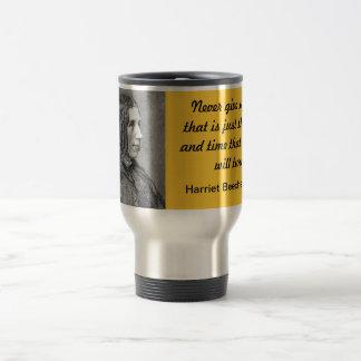 Never Giving Up! 15 Oz Stainless Steel Travel Mug
