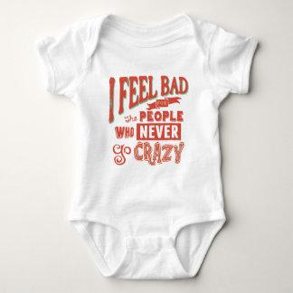 Never Go Crazy Baby Bodysuit