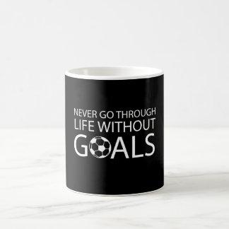 Never Go Through Life Without Goals Coffee Mug