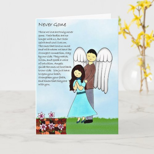 Never Gone Greeting Card