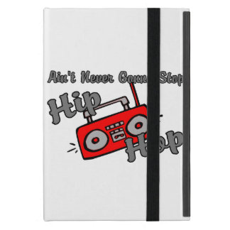 Never Gonna Stop Hip Hop Covers For iPad Mini