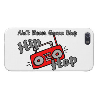 Never Gonna Stop Hip Hop iPhone 5/5S Cover