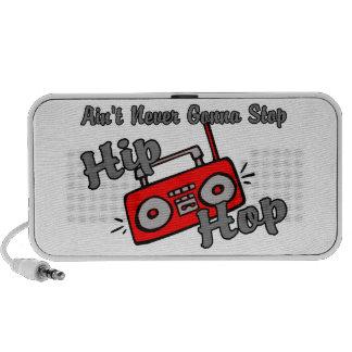 Never Gonna Stop Hip Hop iPod Speakers