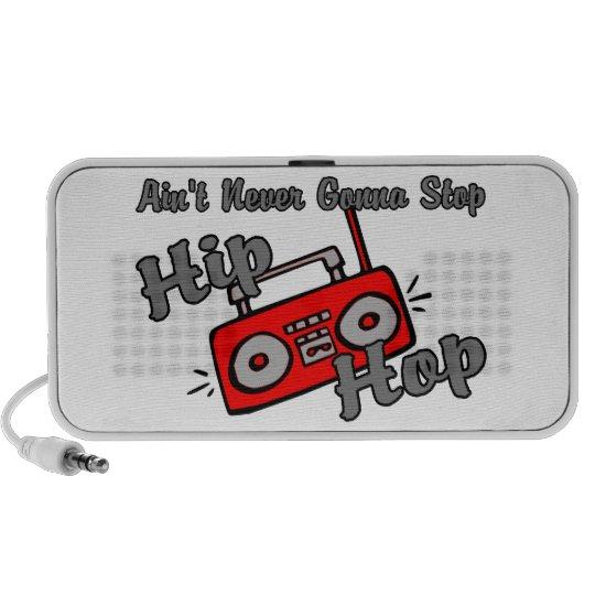 Never Gonna Stop Hip Hop Mini Speaker