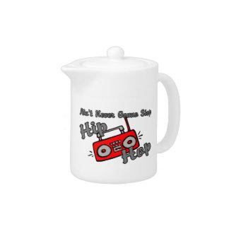 Never Gonna Stop Hip Hop Teapot