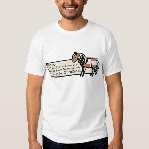 Never Got A Pony T-shirt