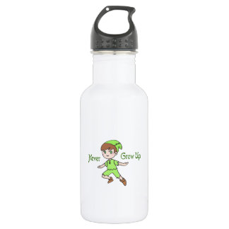 NEVER GROW UP 18OZ WATER BOTTLE