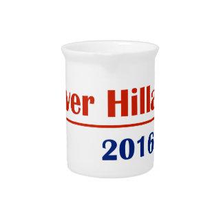 Never Hillary 2016 Beverage Pitcher
