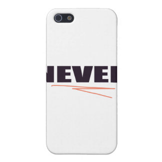 Never iPhone 5 Cover