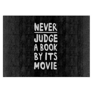 Never Judge a Book by its Movie Cutting Board
