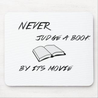 Never Judge a Book Mousepad