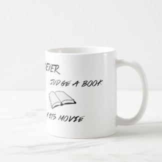 Never Judge a Book Mug