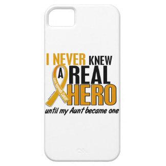 Never Knew a Hero 2 Aunt Appendix Cancer iPhone SE/5/5s Case
