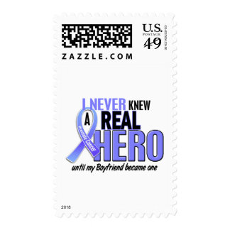 Never Knew A Hero 2 Boyfriend Prostate Cancer Stamp