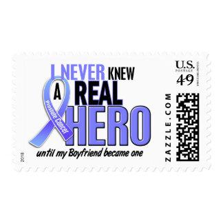 Never Knew A Hero 2 Boyfriend Prostate Cancer Postage