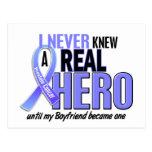 Never Knew A Hero 2 Boyfriend Prostate Cancer Postcards