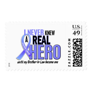 Never Knew A Hero 2 Brother-In-Law Prostate Cancer Postage