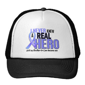 Never Knew A Hero 2 Brother-In-Law Prostate Cancer Trucker Hat
