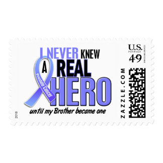 Never Knew A Hero 2 Brother Prostate Cancer Postage