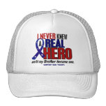 Never Knew A Hero 2 Brother (Support Our Troops) Trucker Hats